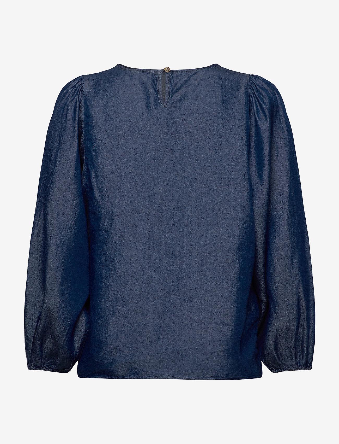 Soft Rebels - Rue 3/4 Top - blouses med lange mouwen - rinse wash - 1
