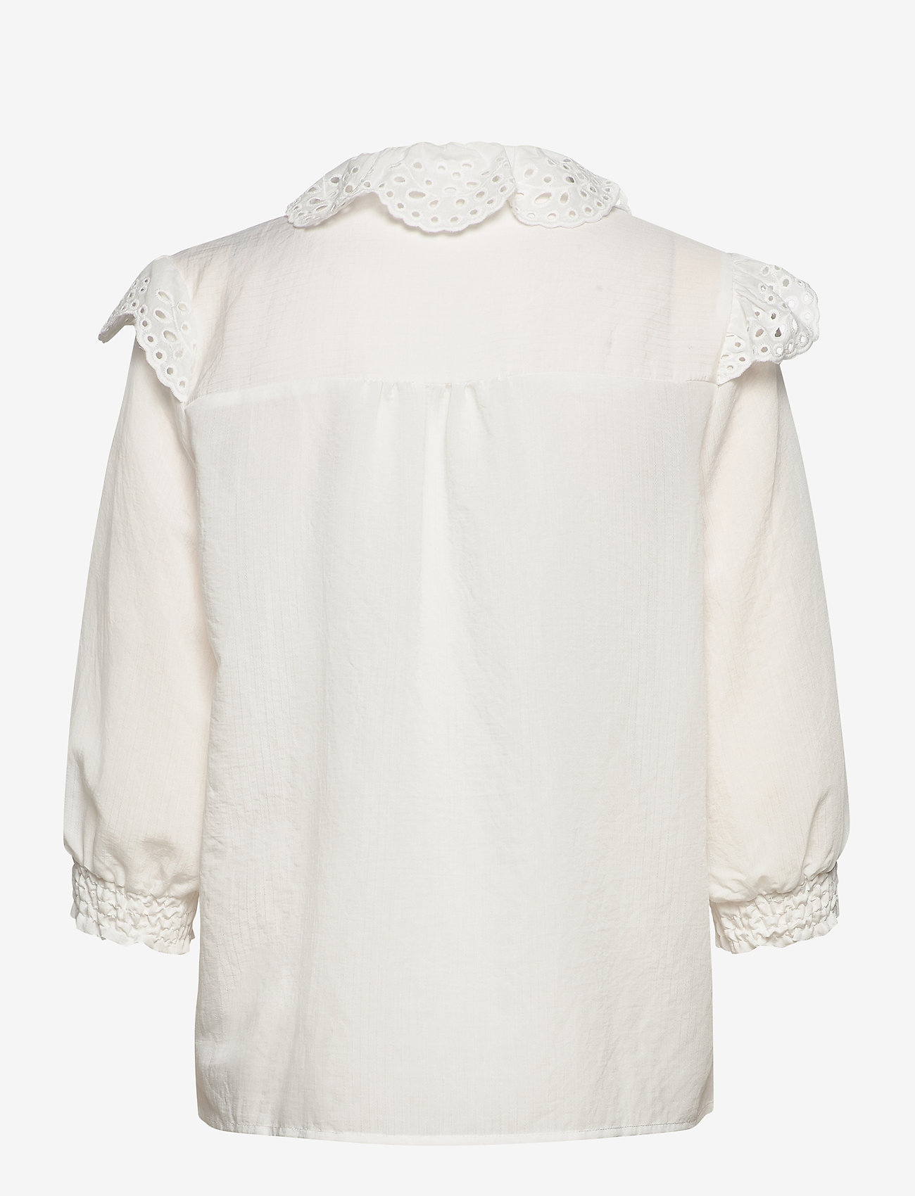 Soft Rebels - Nelly 3/4 shirt - long sleeved blouses - snow white / off white - 1