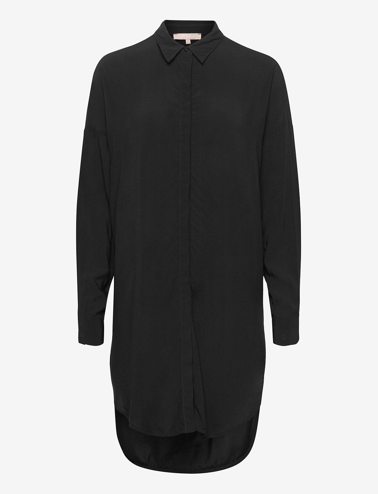 Soft Rebels - Freedom LS Long Shirt - tunikaer - black - 0