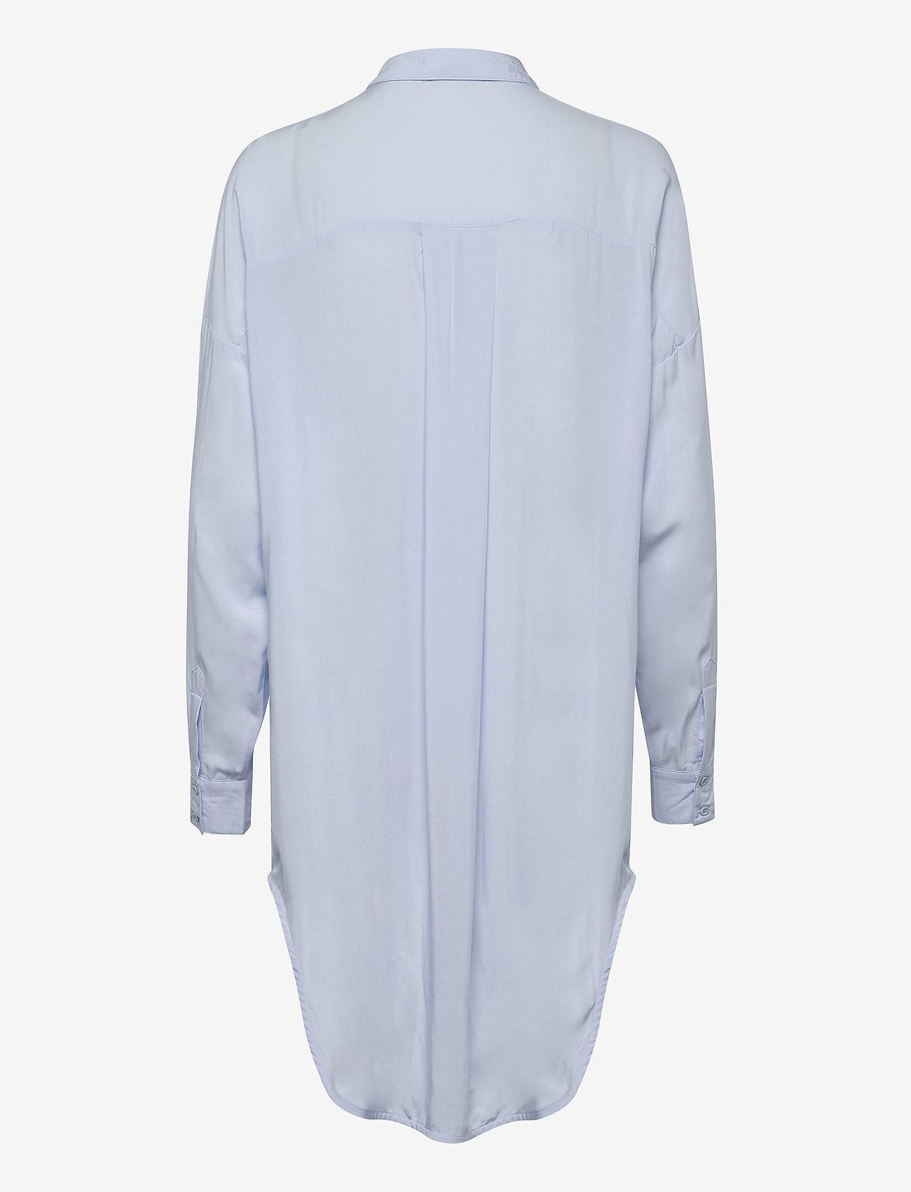 Soft Rebels - Freedom LS Long Shirt - tunieken - cashmere blue - 1