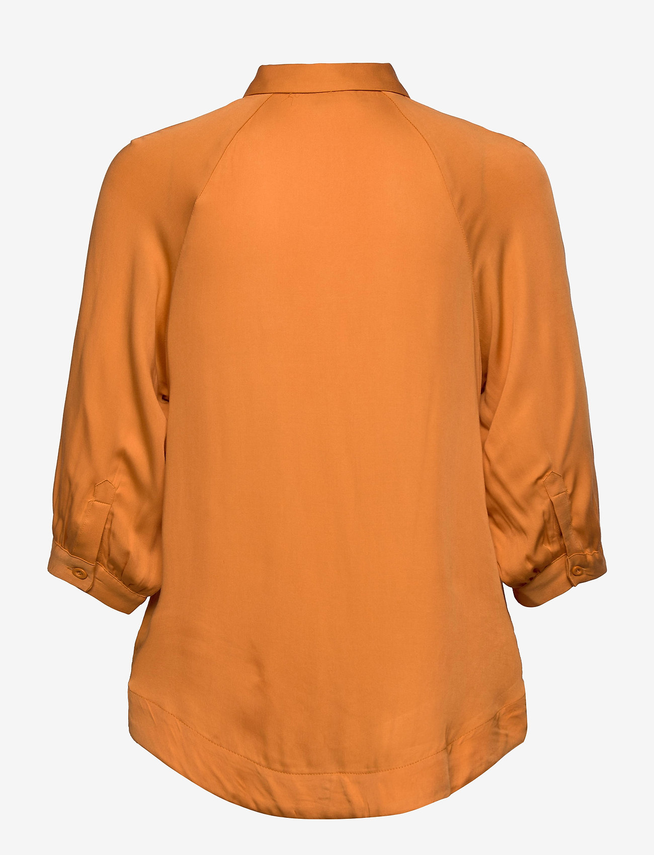 Soft Rebels - Rosanna 3/4 Shirt - long sleeved blouses - tomato cream - 1