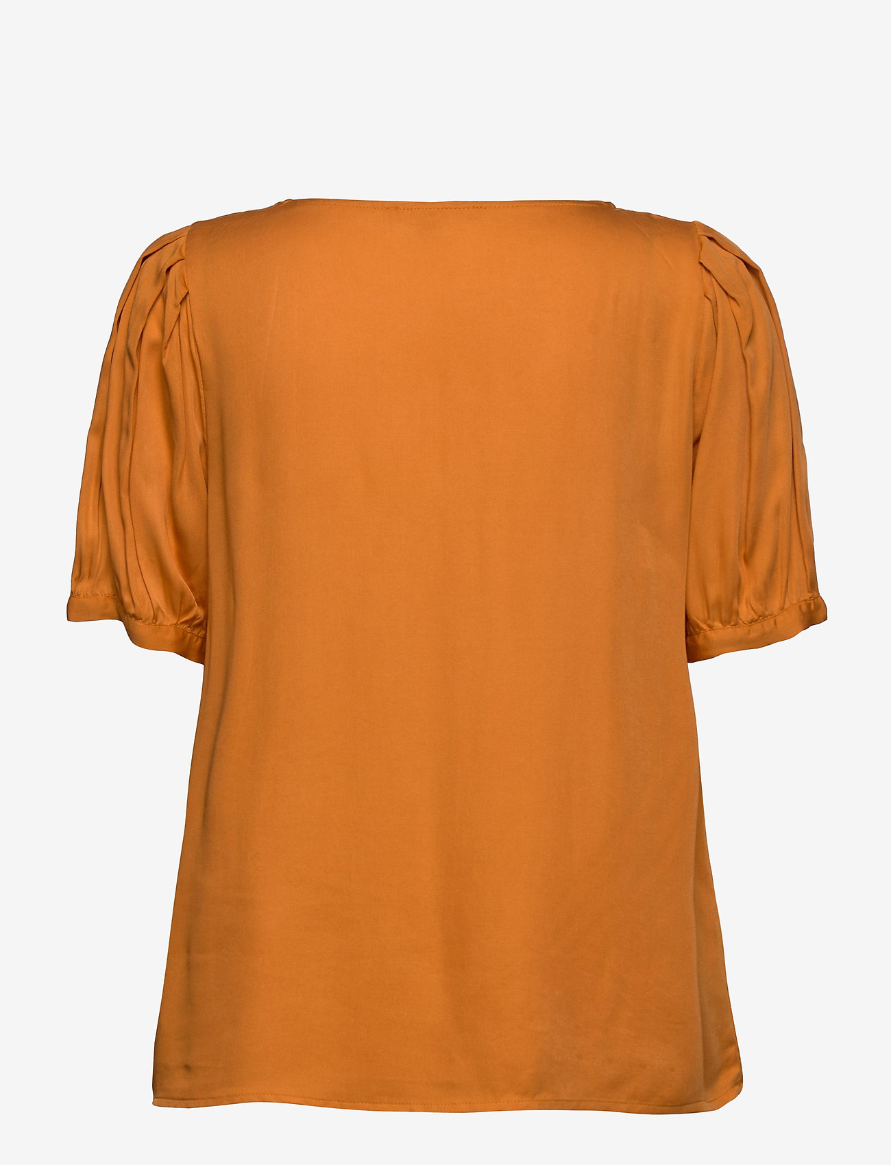 Soft Rebels - Rosanna 2/4 Top - blouses med korte mouwen - tomato cream - 1