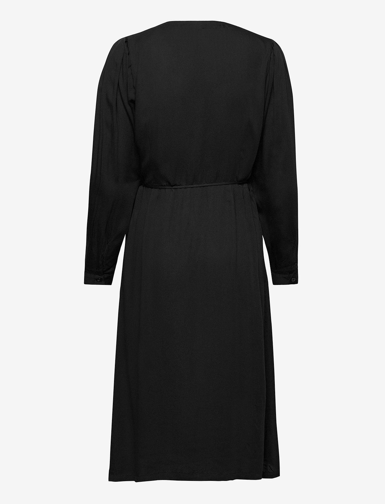 Soft Rebels - Rosanna Midi Dress - summer dresses - black - 1