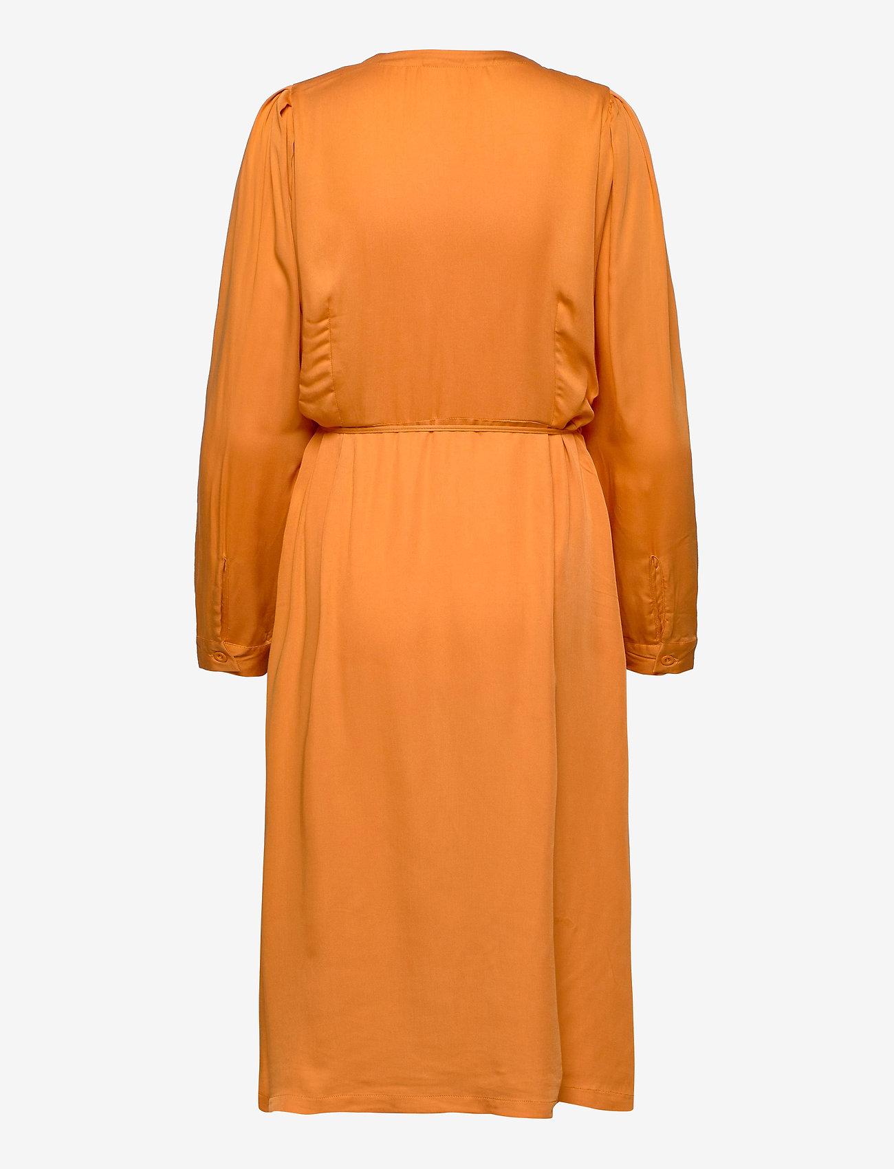 Soft Rebels - Rosanna Midi Dress - summer dresses - tomato cream - 1