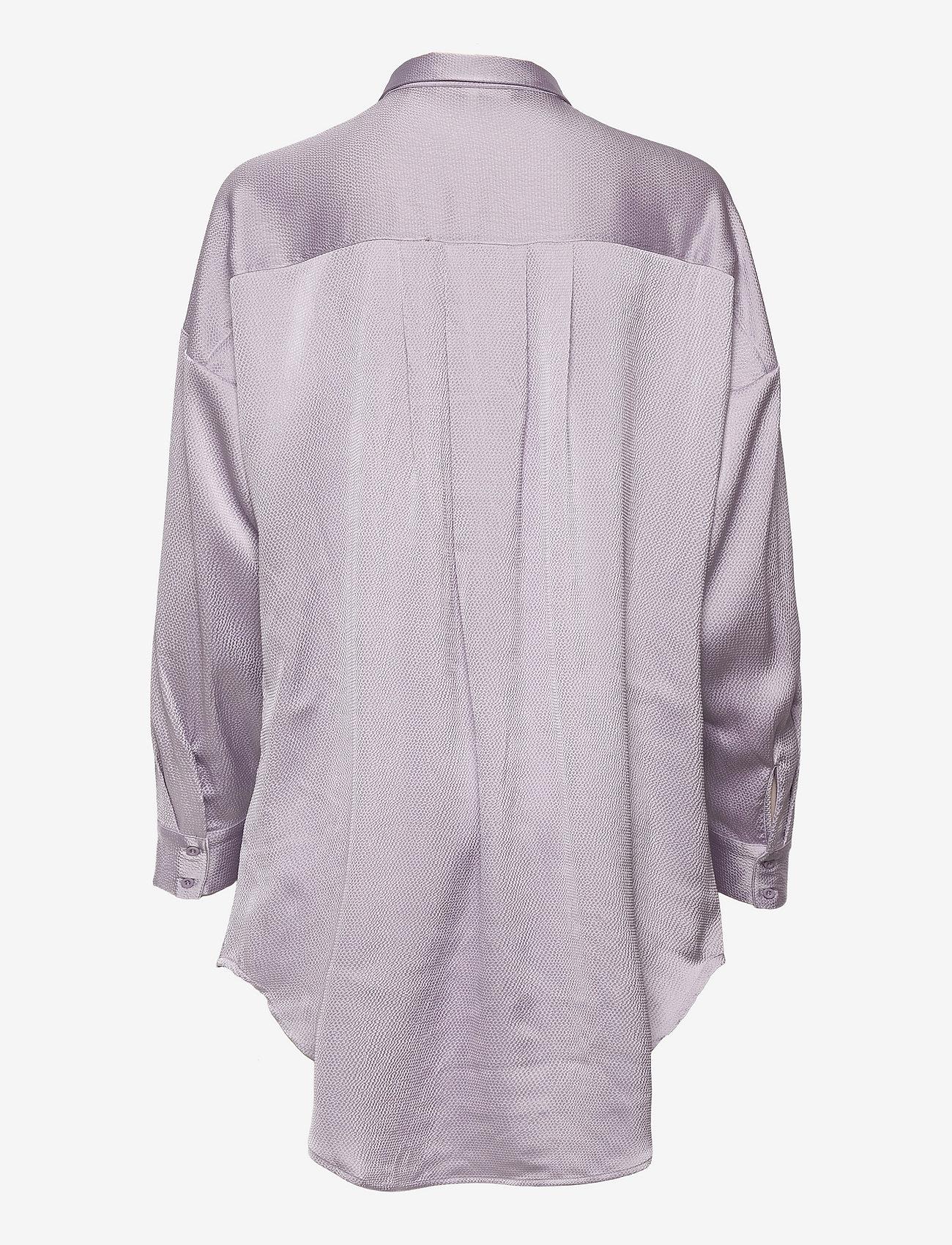 Soft Rebels - SRHarlow LS long Shirt - long-sleeved shirts - thistle - 1