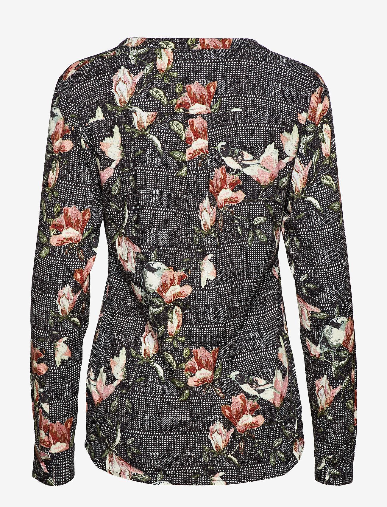 Soft Rebels - Mui Shirt - long sleeved blouses - 791 mui print