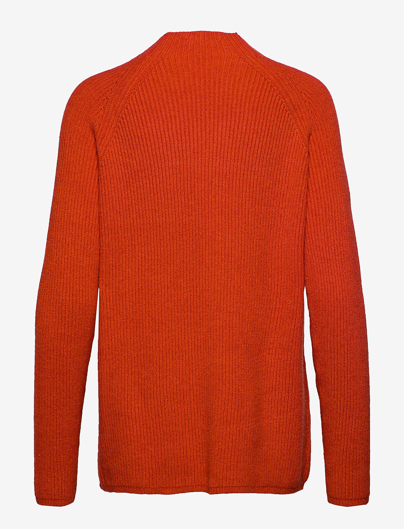 Soft Rebels - Mille T-neck Knit - jumpers - rooibos tea - 1