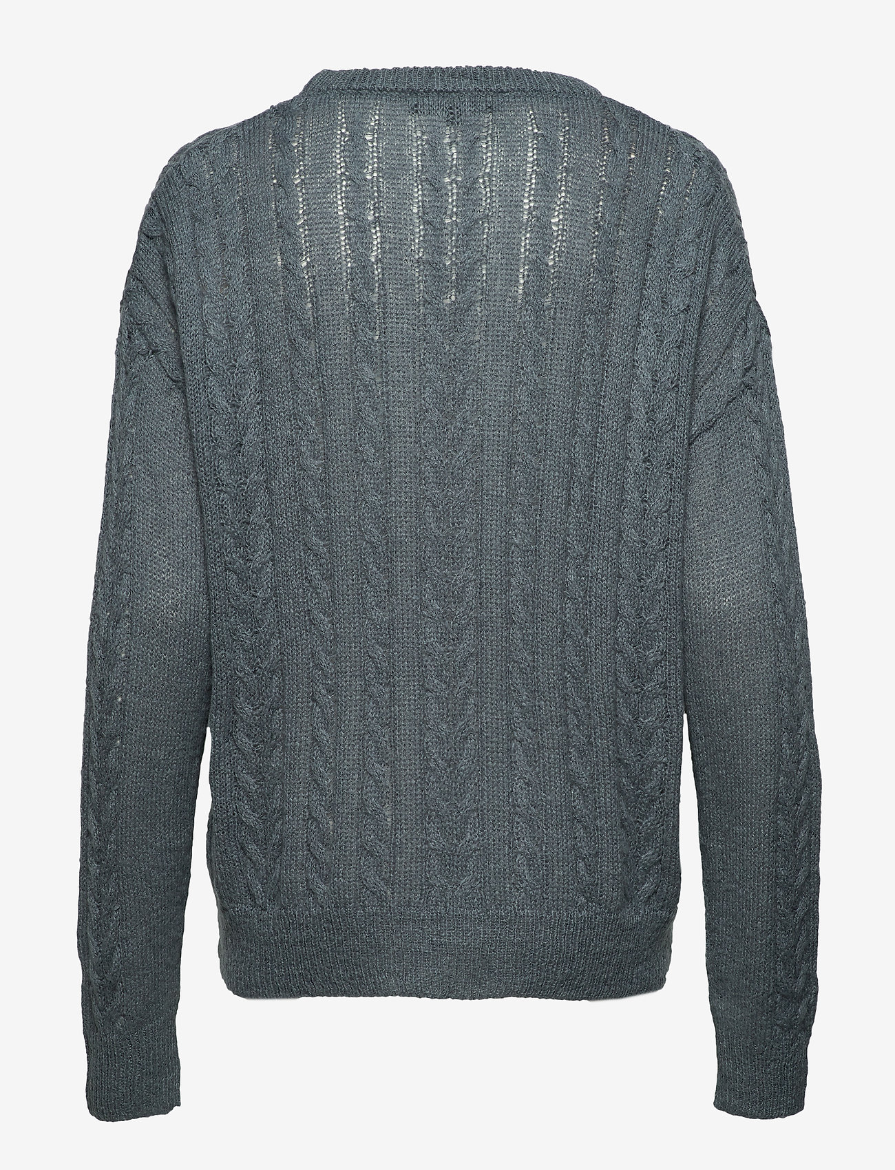 Soft Rebels - Calby O-neck Knit - jumpers - blue mirage - 1