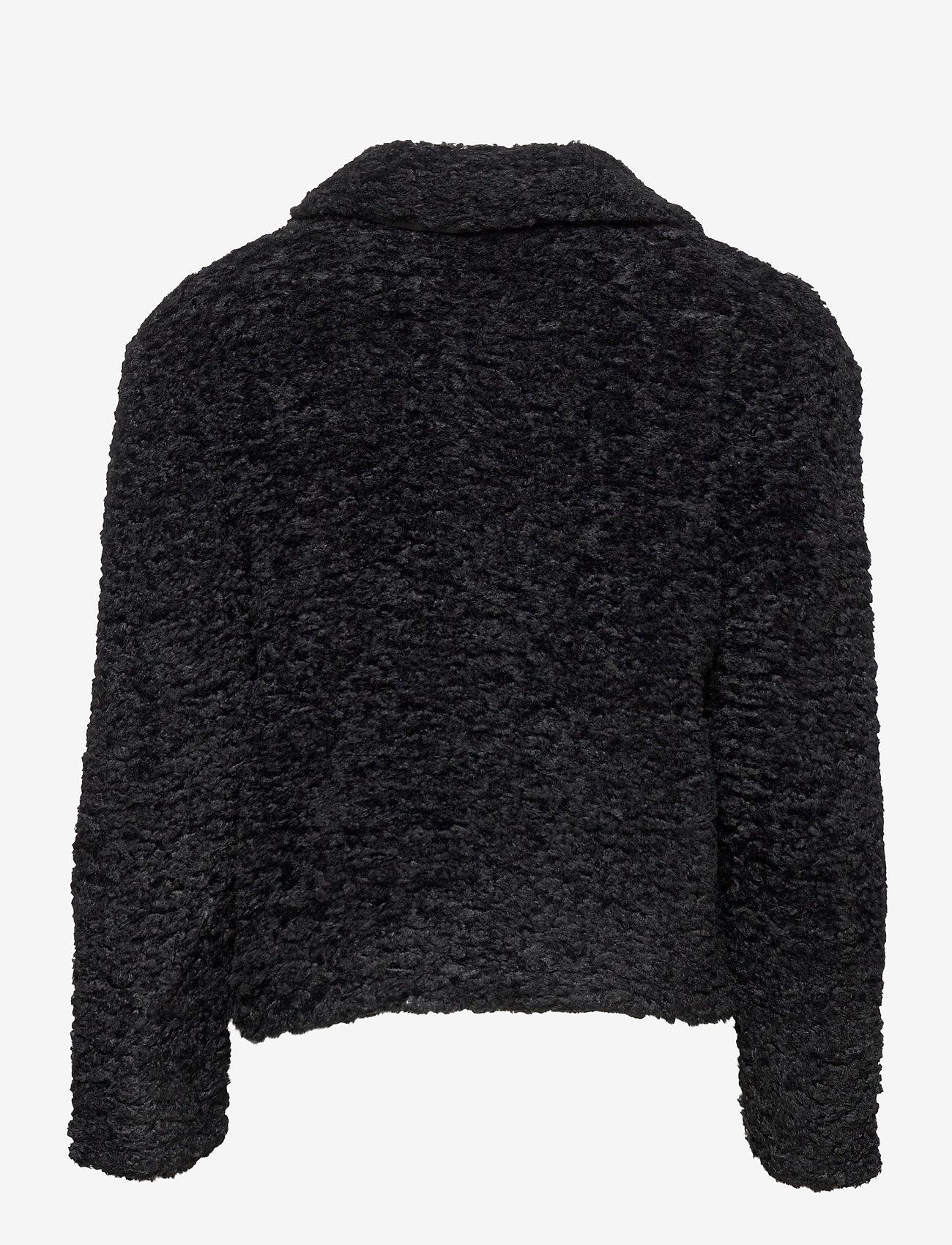 Soft Rebels - Wendy Jacket - faux fur - black - 1