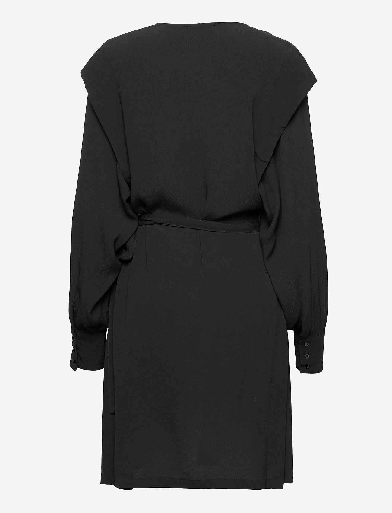 Soft Rebels - Dora Wrap Dress - summer dresses - black - 1