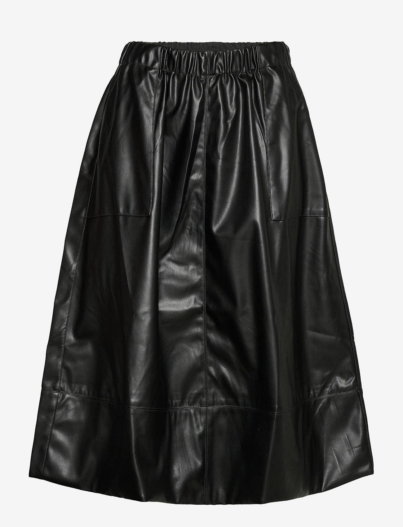 Soft Rebels - Alba Midi Skirt - midi skirts - black - 0