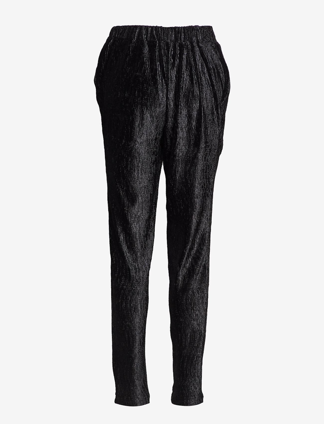 Soft Rebels - Oma Pant - broeken med straight ben - 001 black - 1
