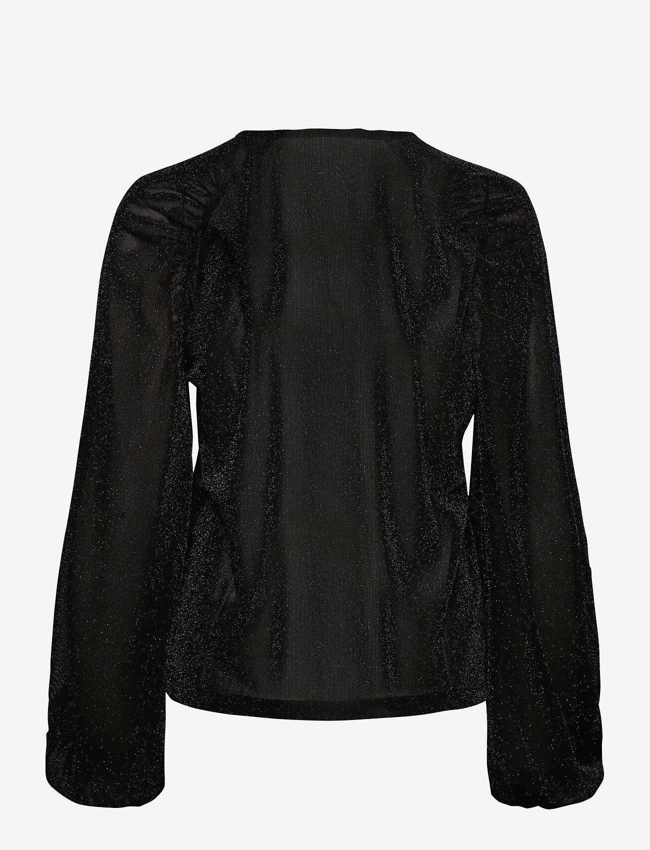 Soft Rebels - SRAlbertine LS Top - long sleeved blouses - black - 1