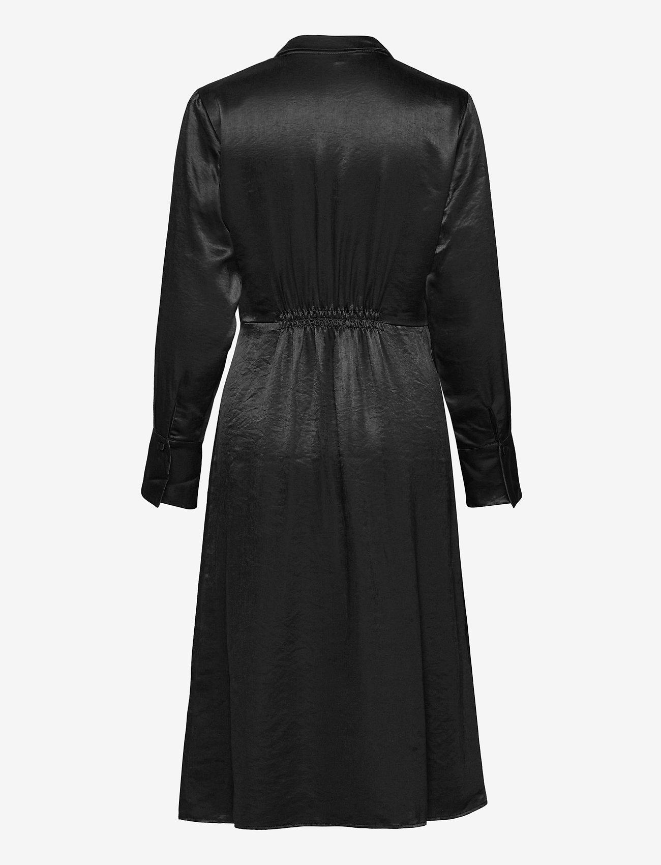 Soft Rebels - SREliza Wrap Dress - cocktail dresses - black - 1
