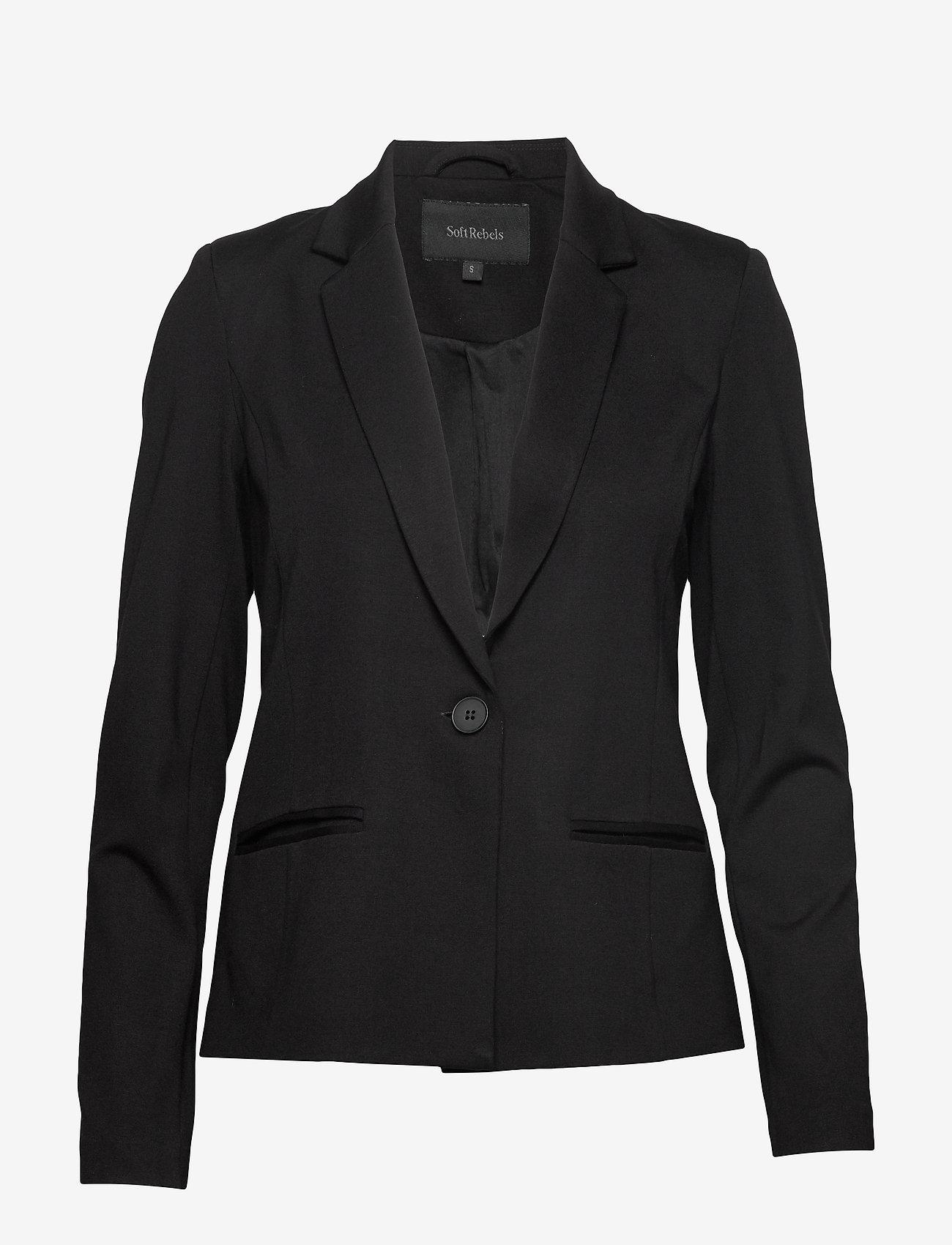 Soft Rebels - Freya New LS Blazer - colberts - black - 1