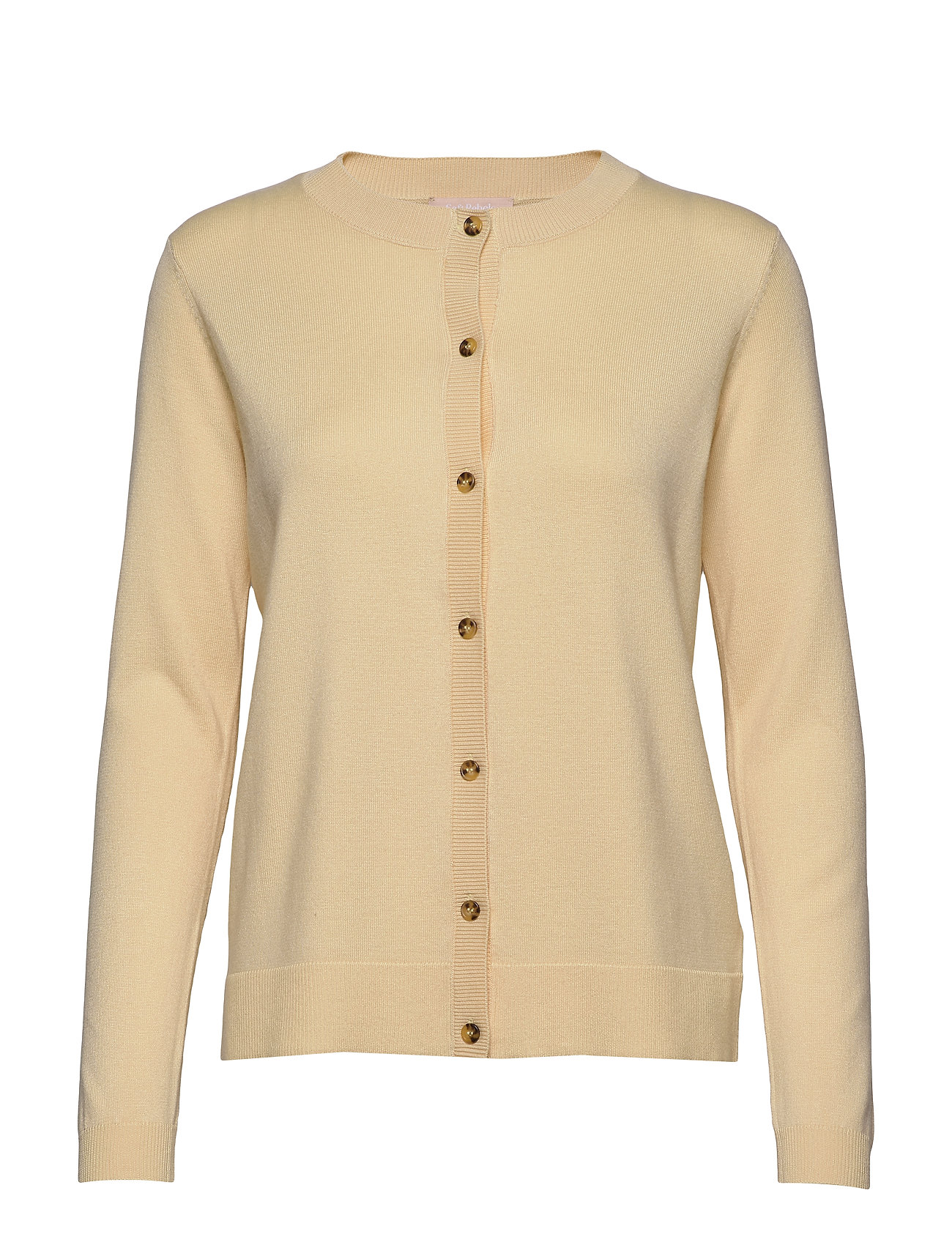 Soft Rebels Zara New O-neck Cardigan - PINEAPPLE SLICE