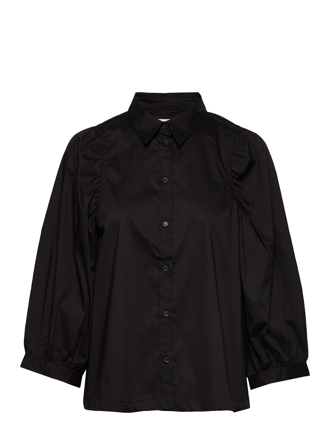 Soft Rebels Joanne 3/4 Shirt - BLACK