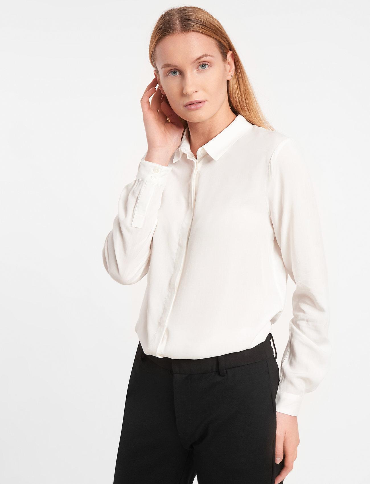 Soft Rebels - Freedom LS Shirt - overhemden met lange mouwen - snow white / off white - 0