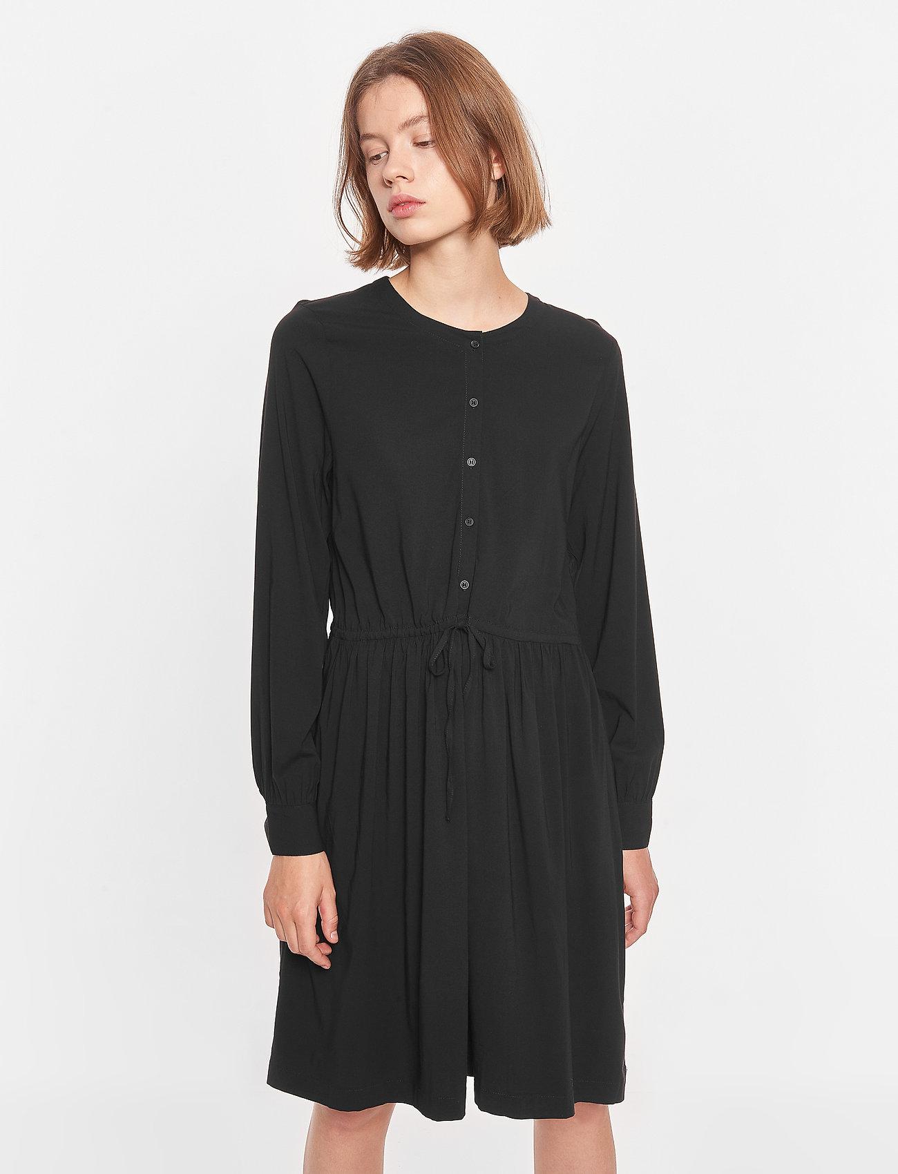 Soft Rebels - SRBloom Dress - summer dresses - black - 0