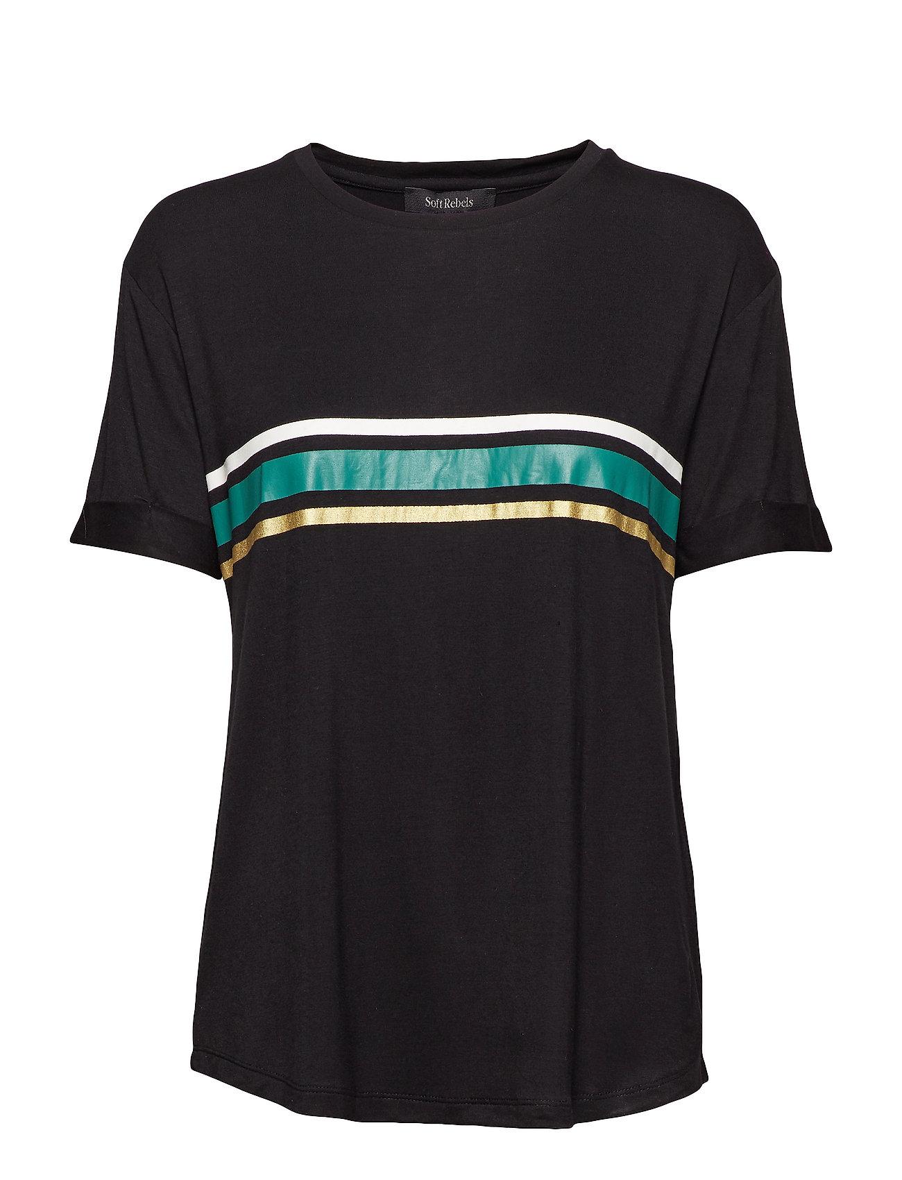 Soft Rebels Elvaline T shirt Ögrönlar