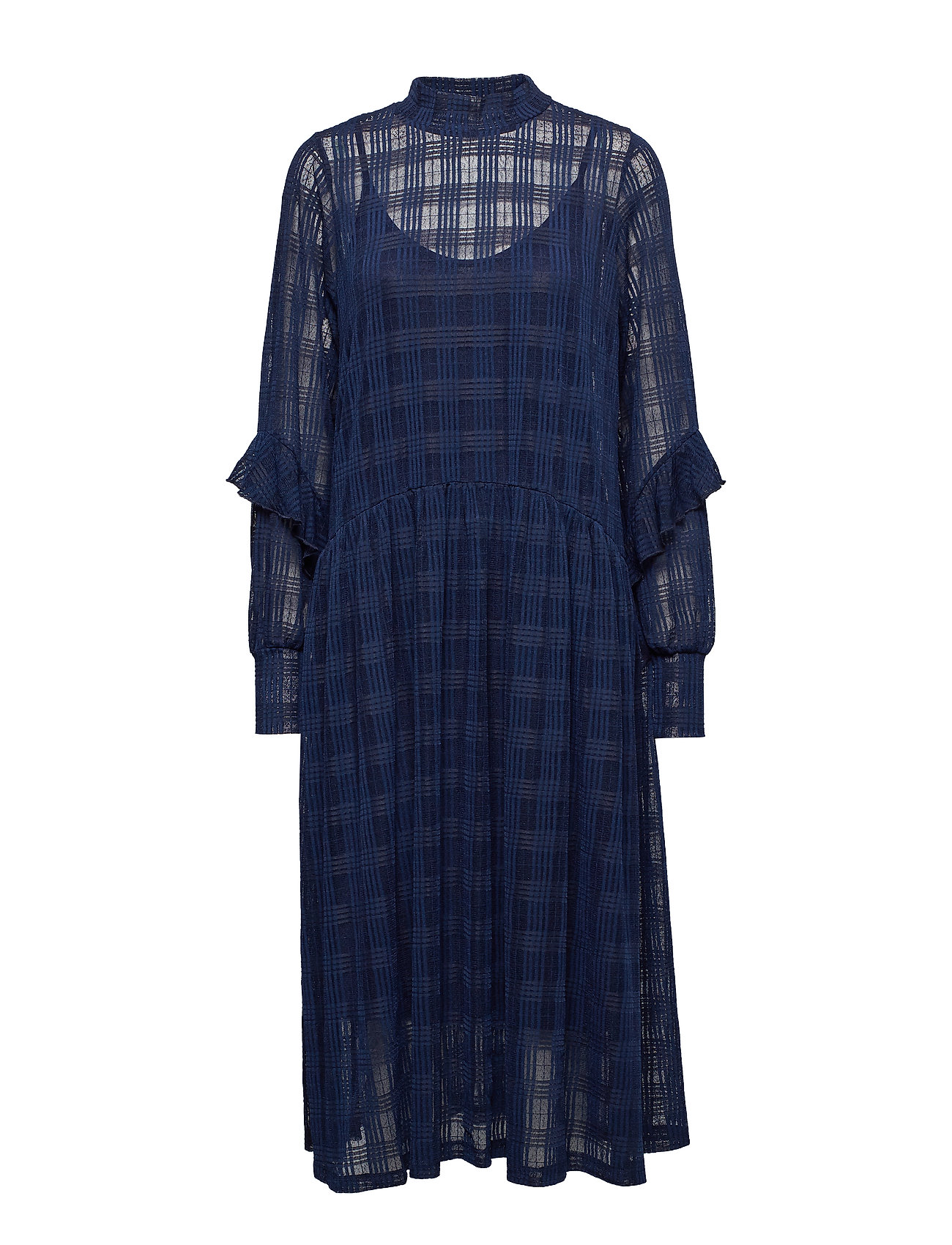 Soft Rebels Pam Ruffel Dress - NIGHT SKY