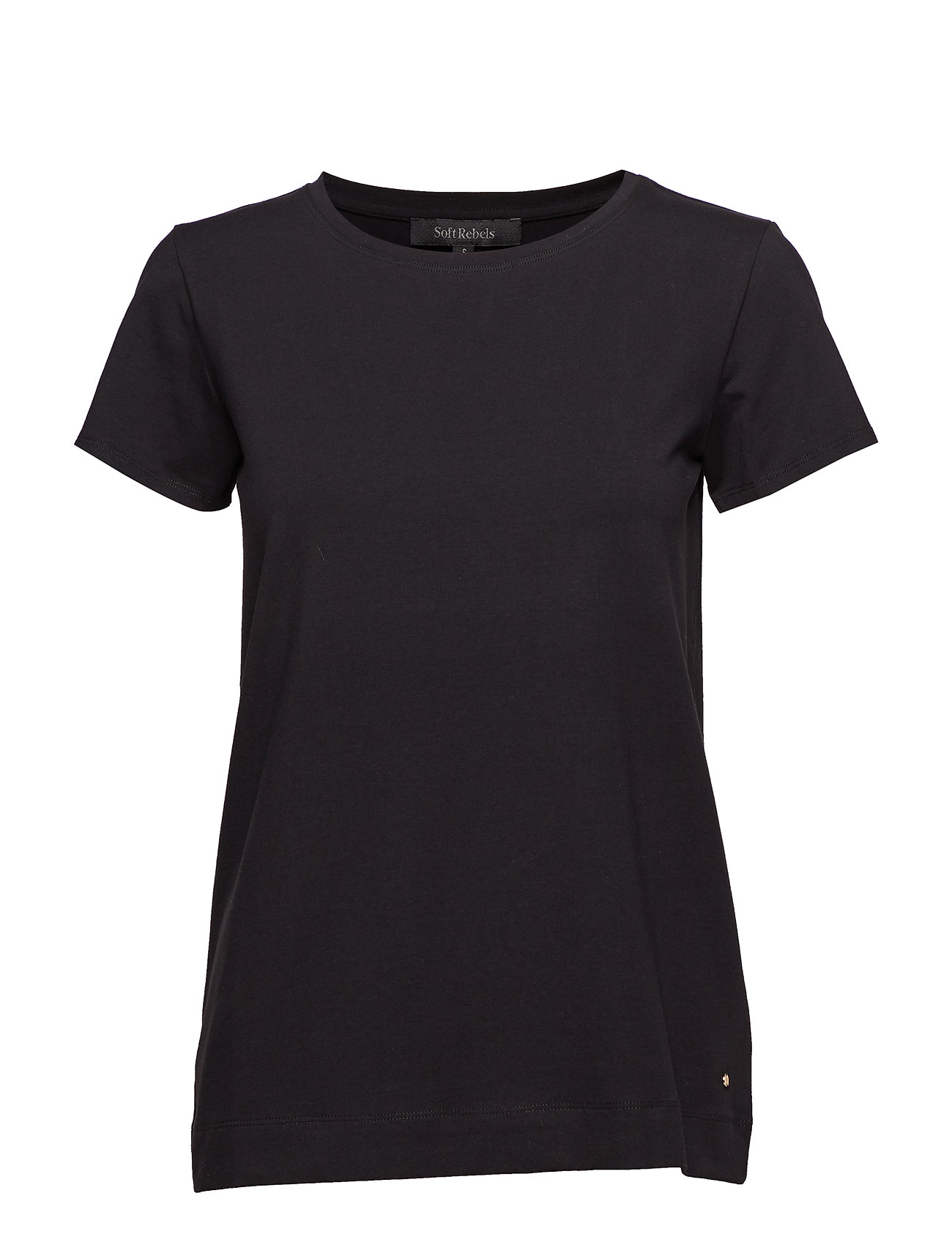 Soft Rebels Elle T-shirt - BLACK