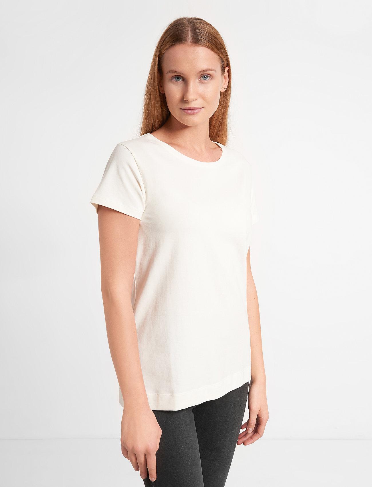 Soft Rebels - Elle T-shirt - basic t-shirts - snow white / off white - 0