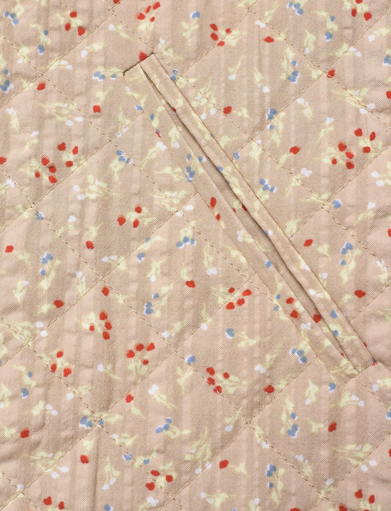 Soft Rebels - SRDana Vest - vatteret veste - tiny flower pepper - 3
