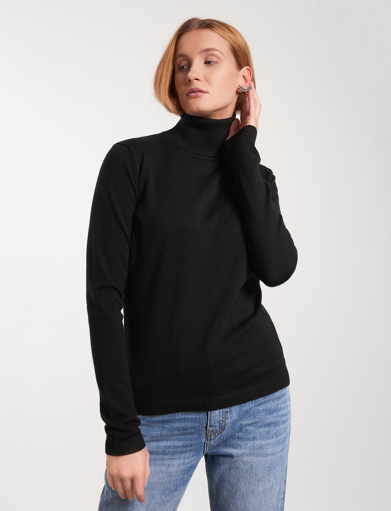 Soft Rebels - SRMarla Rollneck - turtlenecks - 001 black - 0