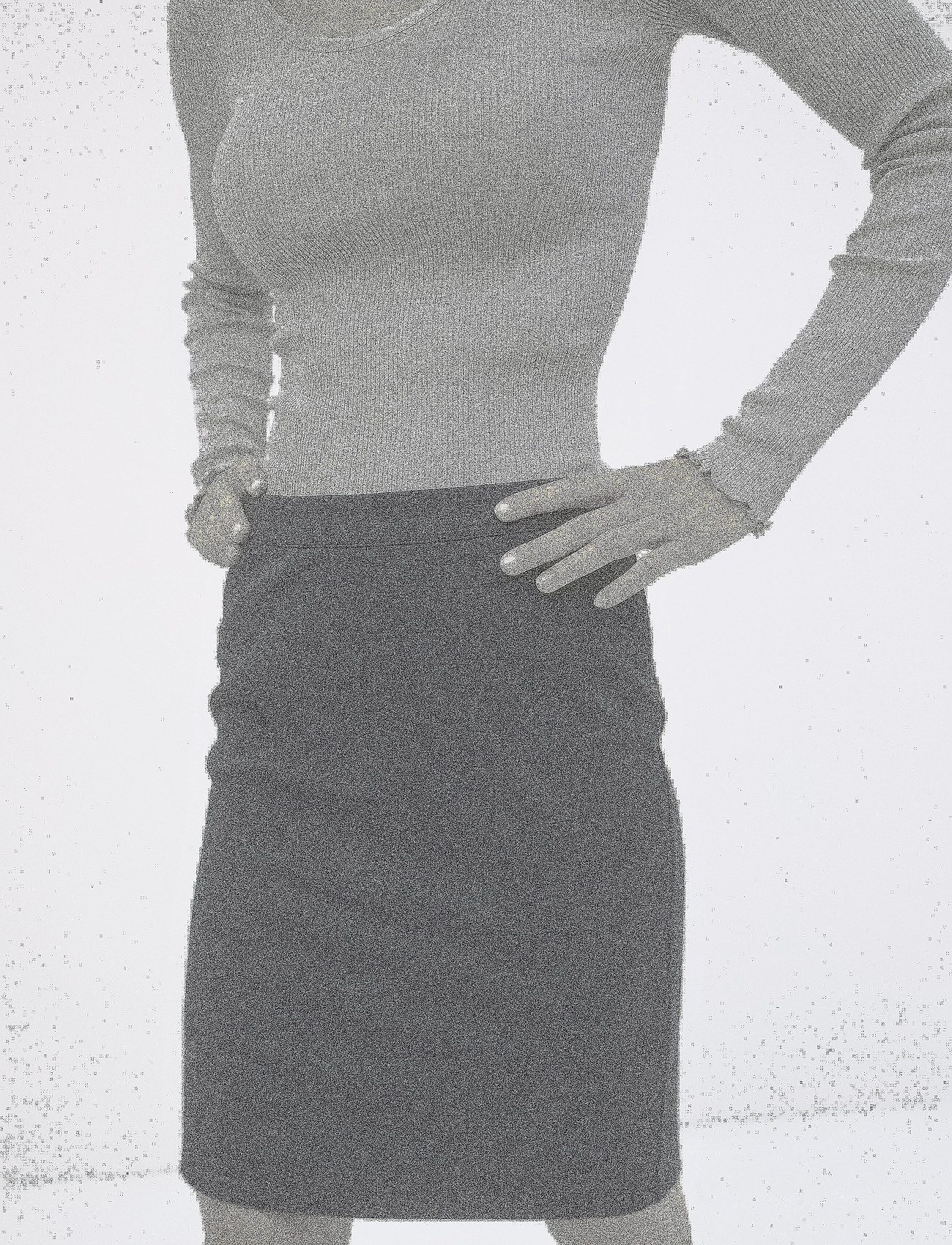 Soft Rebels - Freya Skirt - korte nederdele - black - 0