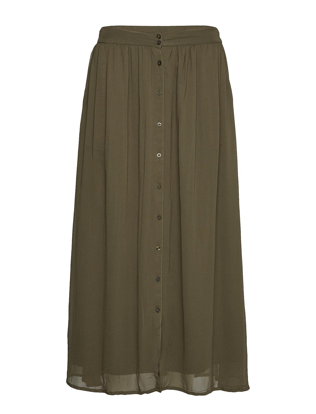 Soft Rebels Koon Maxi Skirt - GRAPE LEAF