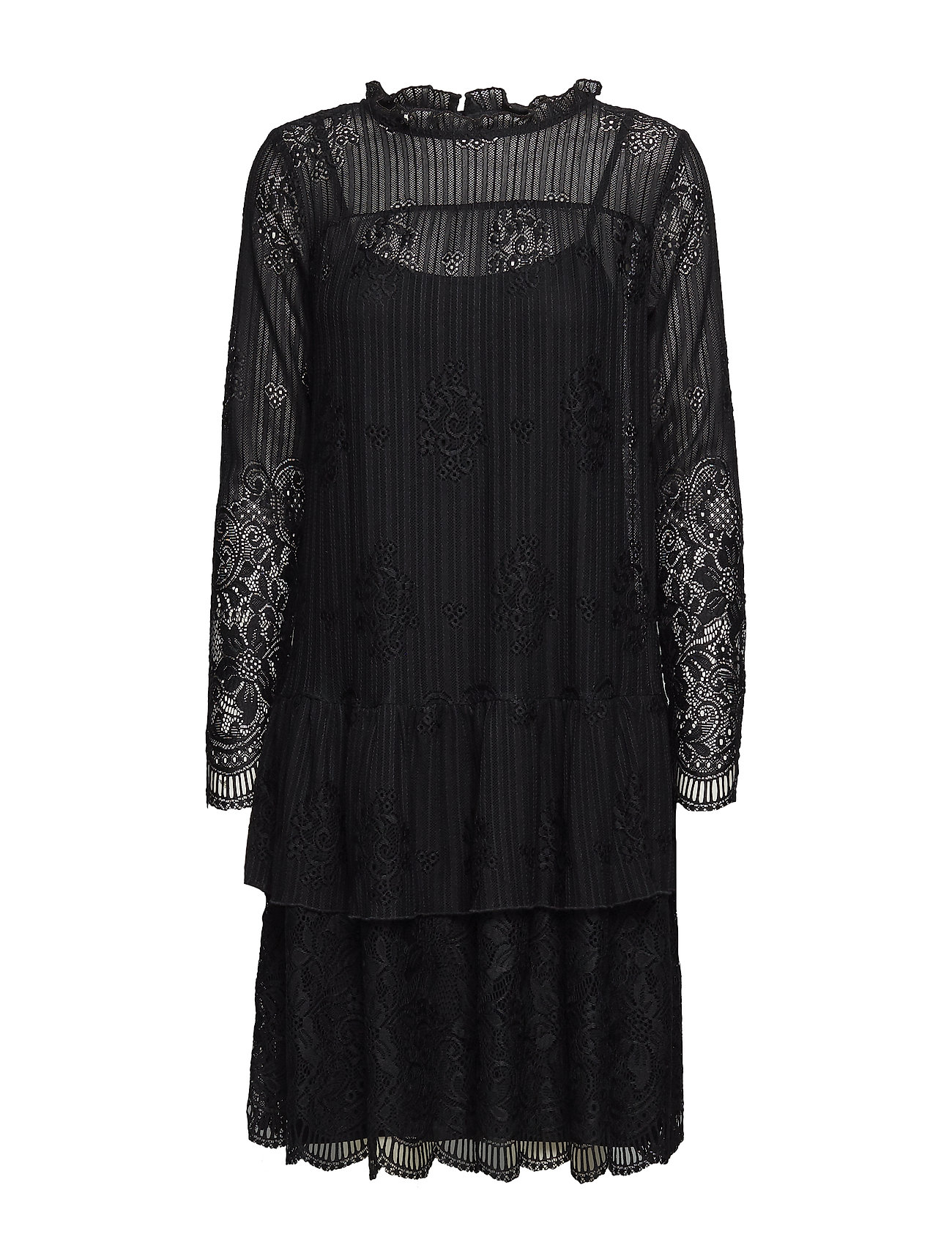 Soft Rebels Joy Layer Dress - 001 BLACK