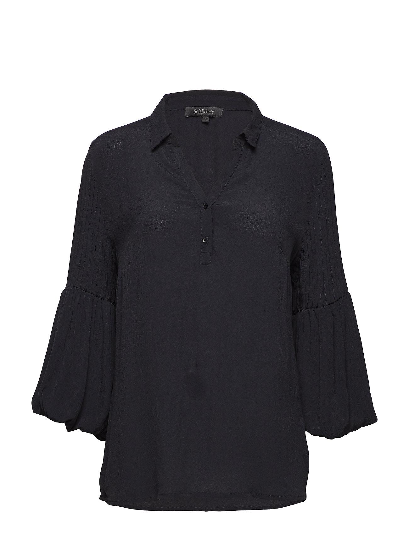 Soft Rebels Will Shirt - 001 BLACK