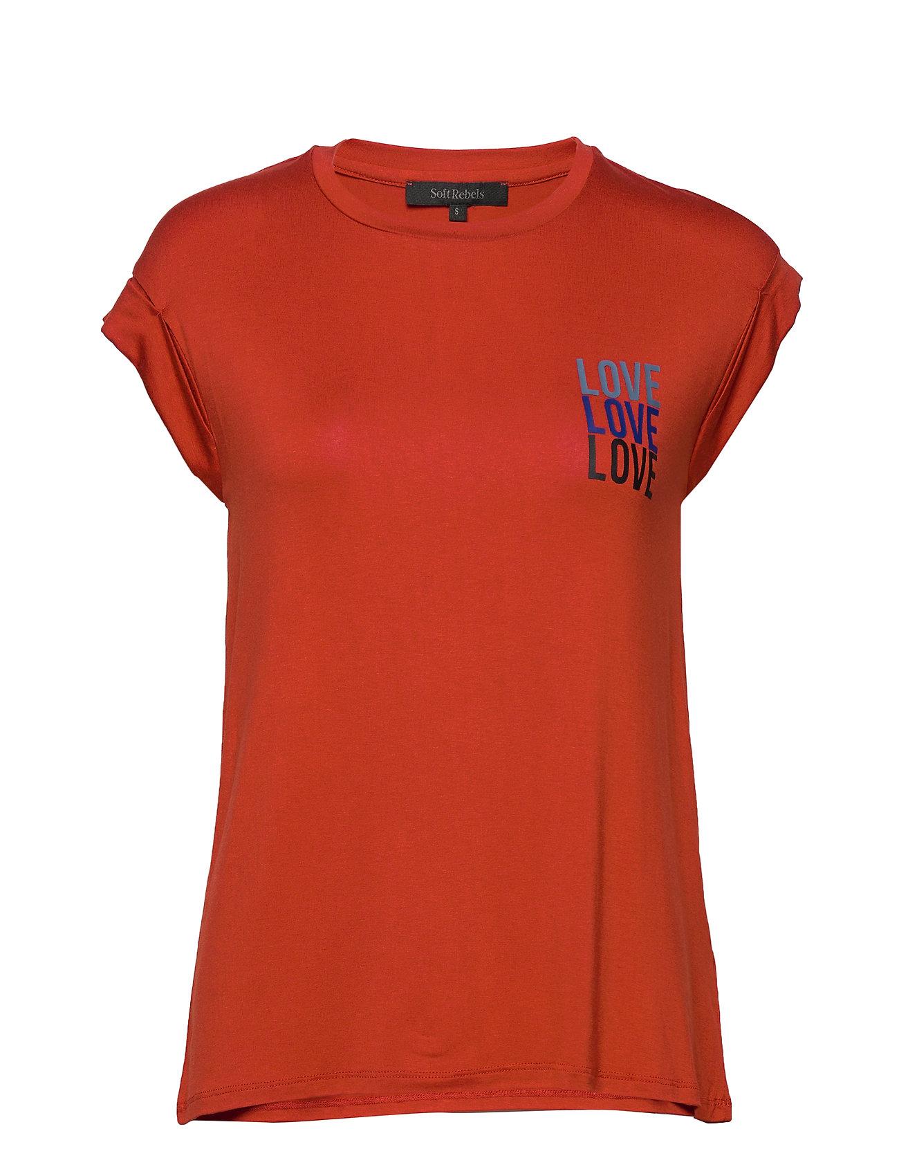Soft Rebels Lovelove T-shirt - ROOIBOS TEA