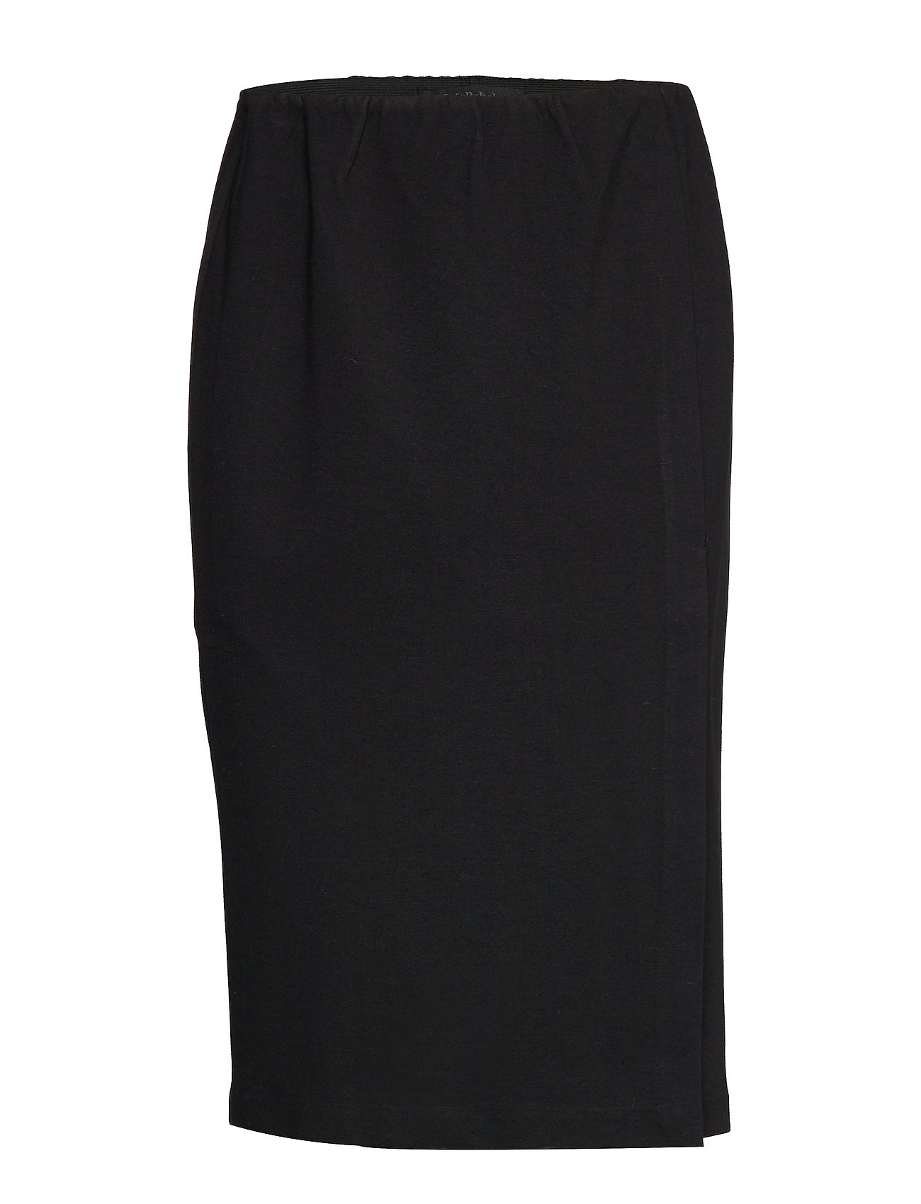 Image of Kalla Skirt Knælang Nederdel Sort Soft Rebels (3223703967)