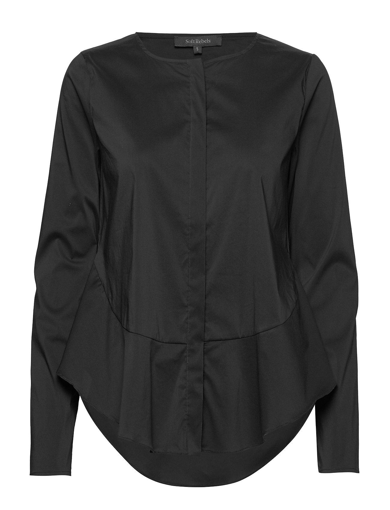 Soft Rebels Aimee Shirt - BLACK