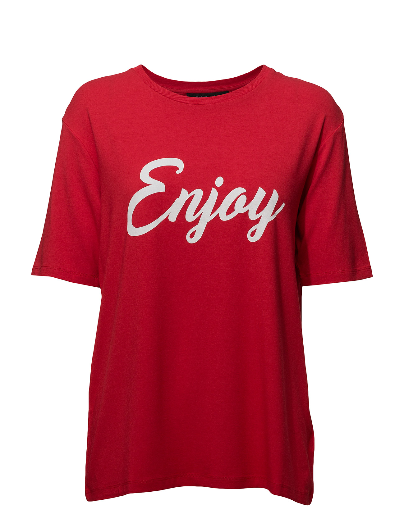Soft Rebels Enjoy T-shirt - SPIZY RED