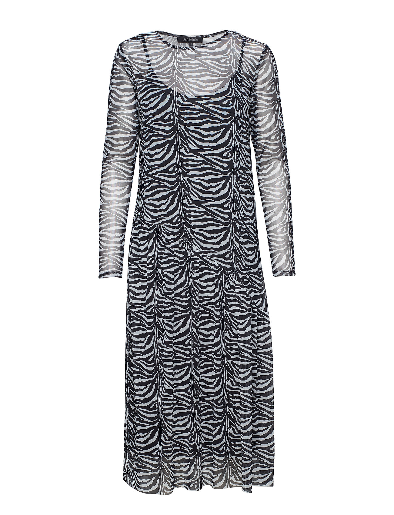 Soft Rebels Sandy Dress - ZEBRA