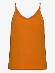 Soft Rebels - Frida Top - blouses zonder mouwen - tomato cream - 0