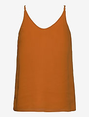Soft Rebels - Frida Top - blouses zonder mouwen - tomato cream - 1