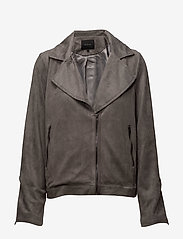 Soft Rebels - Easa Jacket - leather jackets - 015 ash grey - 0