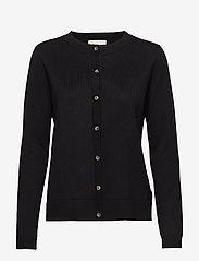 SRMarla New O-neck Cardigan - BLACK