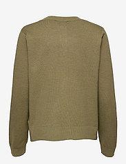 Soft Rebels - SRMarla New O-neck Cardigan - cardigans - olive drab melange - 1