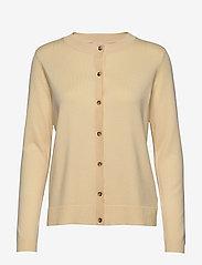 Soft Rebels - Zara New O-neck Cardigan - cardigans - pineapple slice - 0
