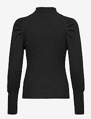 Soft Rebels - SRMarla LS Rollneck Slim Knit - turtlenecks - black - 2