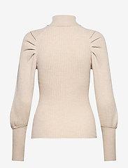 Soft Rebels - SRMarla LS Rollneck Slim Knit - turtlenecks - whitecap gray - 2