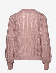 Soft Rebels - Elsa O-neck Knit - trøjer - twillight mauve - 1