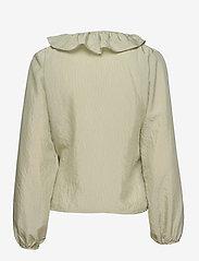Soft Rebels - Ava LS Top - long sleeved blouses - tea - 1
