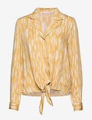 Soft Rebels - Blaze LS Tie Shirt Printed - blouses med lange mouwen - blaze print - 0