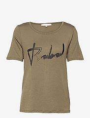 Soft Rebels - SRRebels T-shirt - t-shirts - covert green - 0